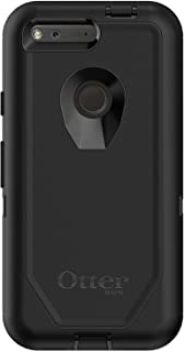 """OtterBox DEFENDER SERIES Case for Google Pixel (5"""" VERSION ONLY) - Retail Packaging - BLACK"""