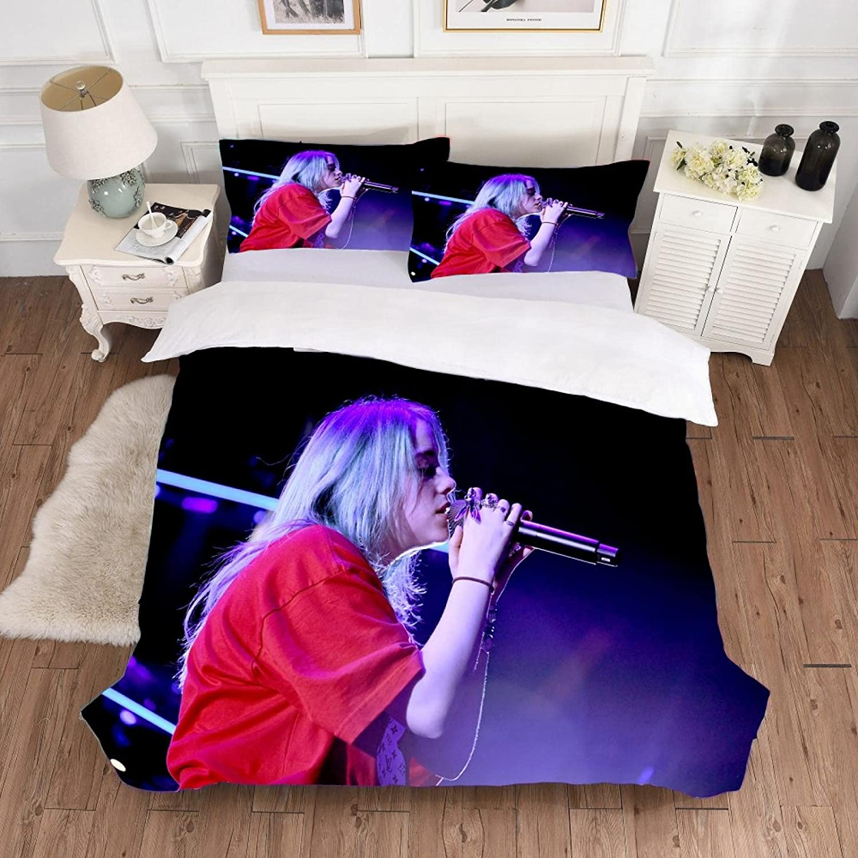 dsgsd 3D Duvet Cover Ranking TOP14 Outlet sale feature Fashion Music Singer P 230×230cm