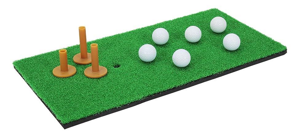 お祝い集めるアルファベットGolfStyle ゴルフ 練習 マット スイング 30×60cm Cセット