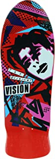 Vision Skateboards Mark Gonzales Original Red Old School Skateboard Deck - 10