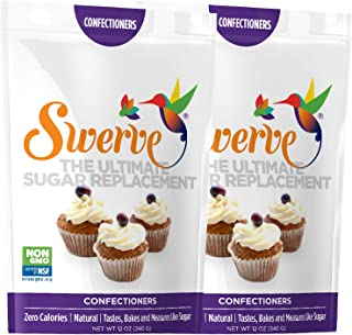 Swerve Sweetener, Confectioners (Pack of 2)