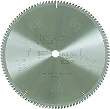 Hitachi 211001 110-Teeth Tungsten Carbide Tipped 15-Inch Triple Chip Saw Blade