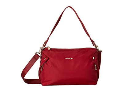 Hedgren Prisma Reflect Mini Hobo (Pomegranate) Hobo Handbags
