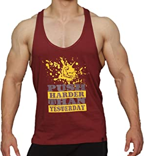 Men Gym Wear T-shirt Bodybuilding Fitness Workout TankTop by FITBEAST