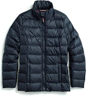 Tommy Hilfiger Adaptive Women's Quilted Jacket with Magnetic Zipper