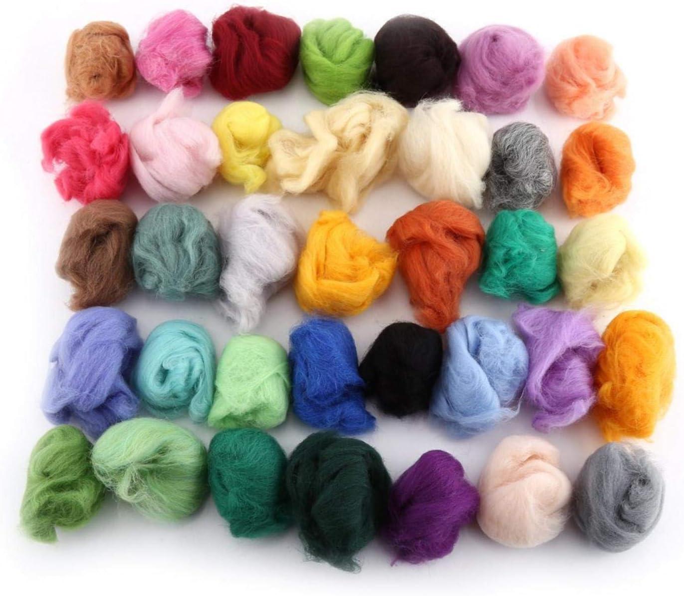 Wool Fiber Spinning Needle Mesa Mall Felting Soft Kit Texture Award Starter Set