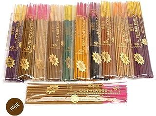 Ikshvaku Herbal Incense   Free Sandalwood Variety Pack in Herbal Treat Agarbatti   Incense Sticks Set of 10 Fragrance