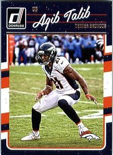 2016 Donruss #94 Aqib Talib Denver Broncos Football Card