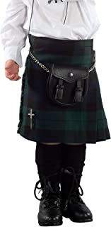 Kilt Society Boys Black Watch Tartan Scottish Highland Kilt