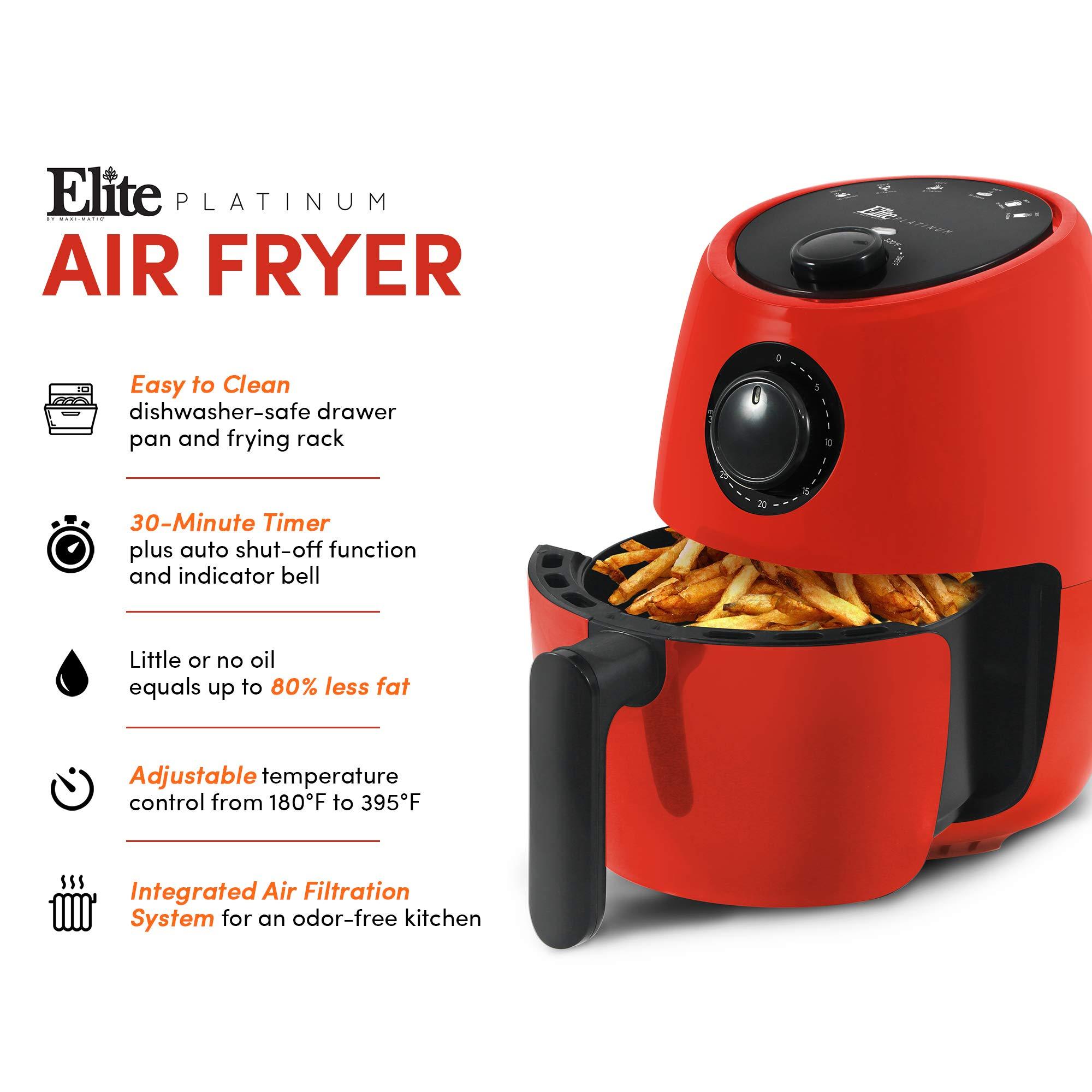 Maxi-Matic EAF-8061R Freidora eléctrica de aire caliente, sin ...