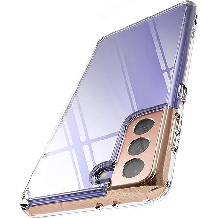 """Ringke Fusion Compatible con Funda Galaxy S21 Plus 5G (6.7"""") Hybrid PC Trasera Dura con Parachoques de TPU Flexible - Clear Transparent"""