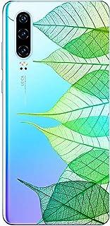 Suhctup Compatible con Huawei P30 Pro Funda Flor de TPU Transparente Diseño de Flores Patrón Cárcasa Ultra Fina Suave con ...