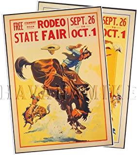 Best vintage rodeo posters Reviews