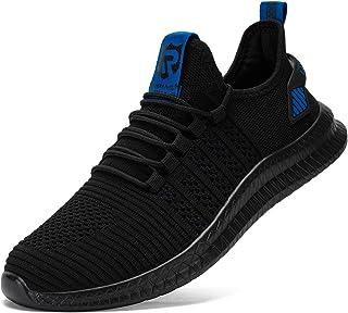 LARNMERN Chaussures de Sport Running Basket Homme Femme Course Trail Entraînement Fitness Tennis Respirantes Slip on Chaus...