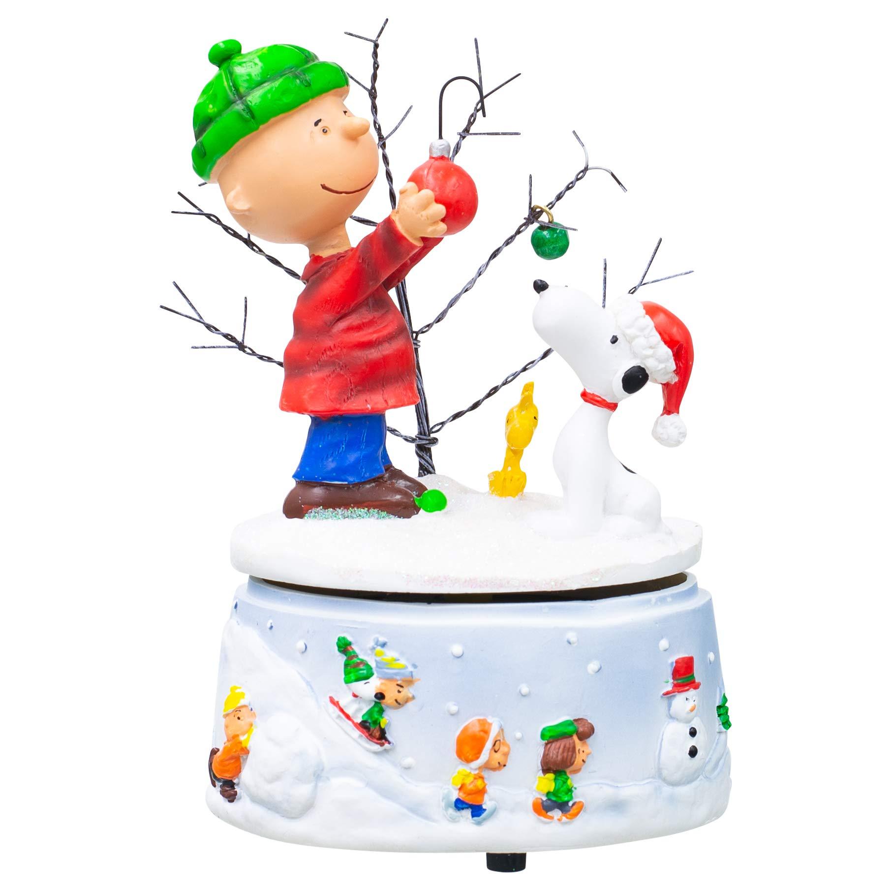 Image of A Charlie Brown Christmas Music Box Figurine