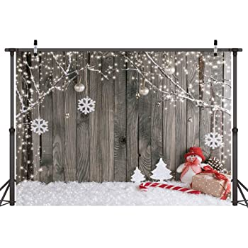 YongFoto 2,2x1,5m Vinilo Fondo de Fotografia Nieve Navidad /Árboles Fuertes Nevadas WinterHappy A/ño Tel/ón de Fondo Fiesta Ni/ños Boby Boda Adulto Retrato Personal Estudio Fotogr/áfico Accesorios