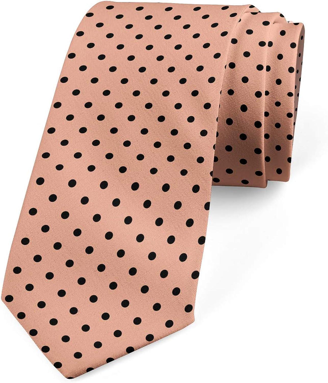 Ambesonne Necktie, Abstract European Design, Dress Tie, 3.7
