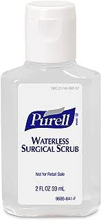PURELL Waterless Surgical Scrub Gel, Fragrance Free, 2 fl oz Portable, Travel Sized Advanced Surgical Scrub Formulation Flip Cap Bottles (Case of 24) - 9686-24