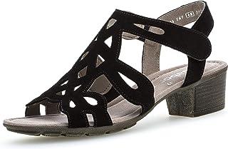 Gabor Casual Sandalette in grote maten zwart 24.561.17 grote damesschoenen