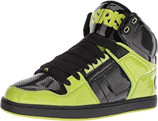 #Osiris NYC 83 CLK Black Lime Mens Skate Mid Trainers Boots