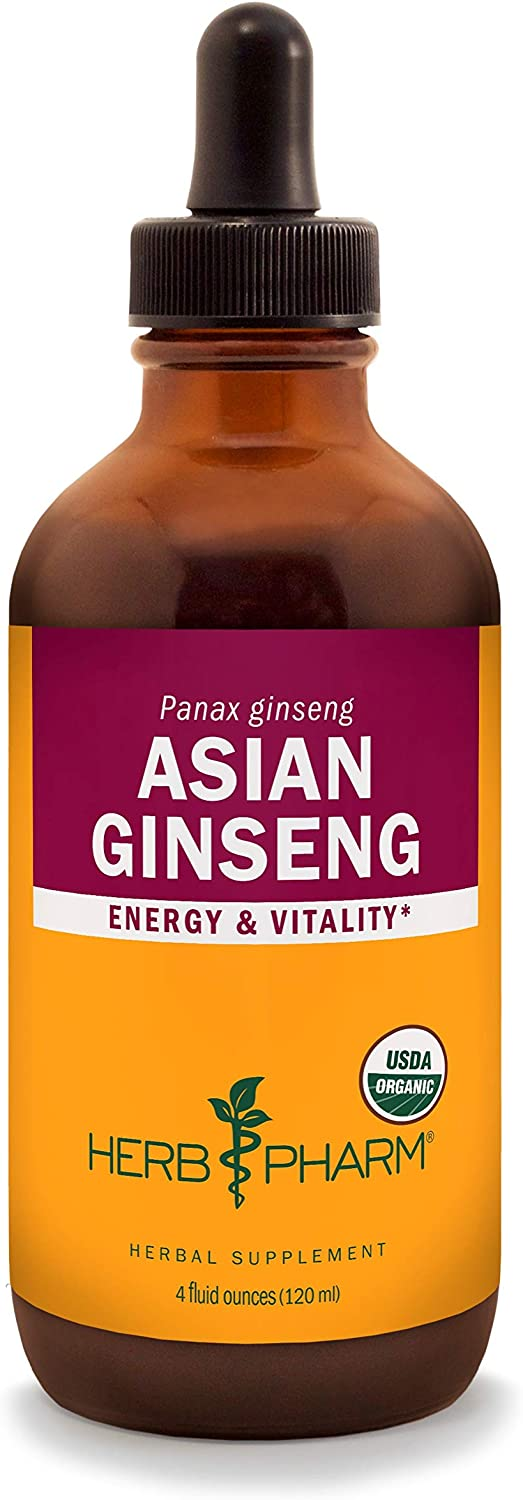 Herb Pharm Asian Panax Ginseng Liquid Energy Extract S Super intense SALE for Free Shipping New and