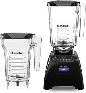 Blendtec Classic 575 Blender - WildSide+ Jar (90oz) and FourSide Jar (75 oz) BUNDLE - Professional-Grade Power - Self-Clea...