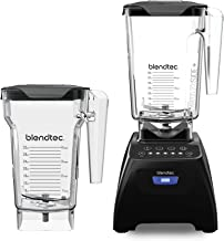 Blendtec C575A2301A-AMAZON Classic 575 Countertop Blender, WildSide+, Black