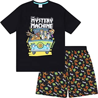 Scooby Doo Mystery Machine Official Gift Boys Kids Loungewear Short Pajamas