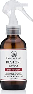 Restore Spray/Topical Relief/Calms & Cools/Reduces Redness/Soothes Stings Itching & Burns/For All Skin Types/Organic Aloe Vera Gel/Botanical Extracts / 4 fl oz