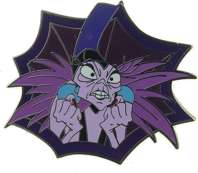 Yzma Bowling Pin Villains Hidden Mickey Disney Lapel Pin Emperor/'s New Groove
