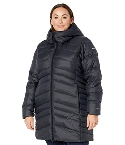 Columbia Plus Size Autumn Park Mid Jacket (Black) Women