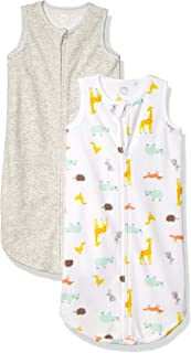 Amazon Essentials 2-Pack Microfleece Baby Sleep Sack Unisex bebé, Pack de 2