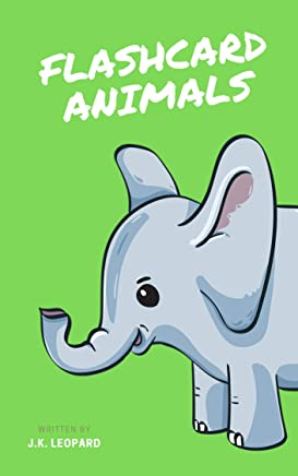 Flash Card Animals (Early Reading Book 1) (English Edition)