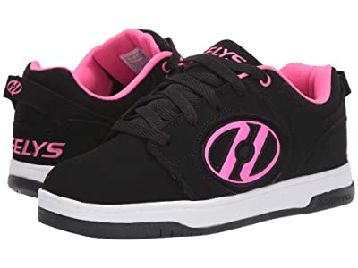 Heelys Voyager (Little Kid/Big Kid/Adult) (Black/Pink) Girls Shoes