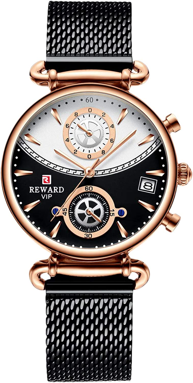RORIOS Women Watches Atlanta Mall Women's Chronograph Stain with Watch Max 59% OFF Quartz
