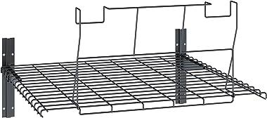 Suncast BMSA5L BMS Loft Shelf-Ceiling Storage Kit, Shed Accessories, Black