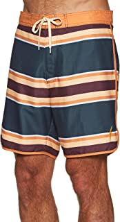 Lightning Bolt 70's Striped Boardshort Swim Shorts