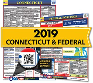 Osha4less Labor Law Poster - State and Federal, Connecticut (CT-CB)