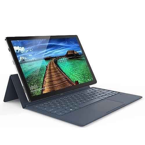 ALLDOCUBE KNote Tablet PC 2 en 1 con Funda para Teclado, Pantalla de Diamante Negro