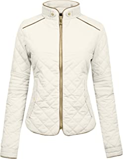 NE PEOPLE Womens Lightweight Quilted Zip Jacket