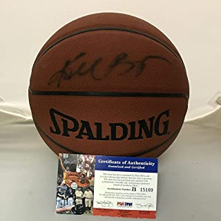 91a1644eb22 Autographed/Signed Kobe Bryant Los Angeles Lakers Spalding Full Size FS Basketball  PSA/DNA