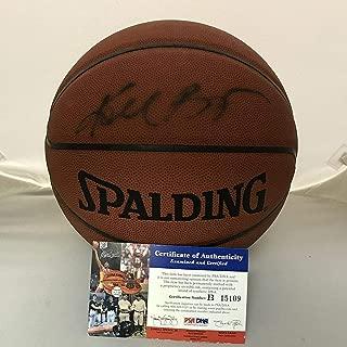 kobe autographed basketball
