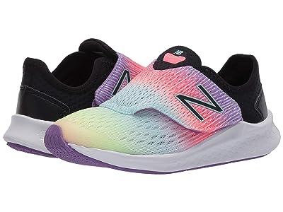 New Balance Kids Fresh Foam Fast (Little Kid) (Neo Violet/Black) Girls Shoes