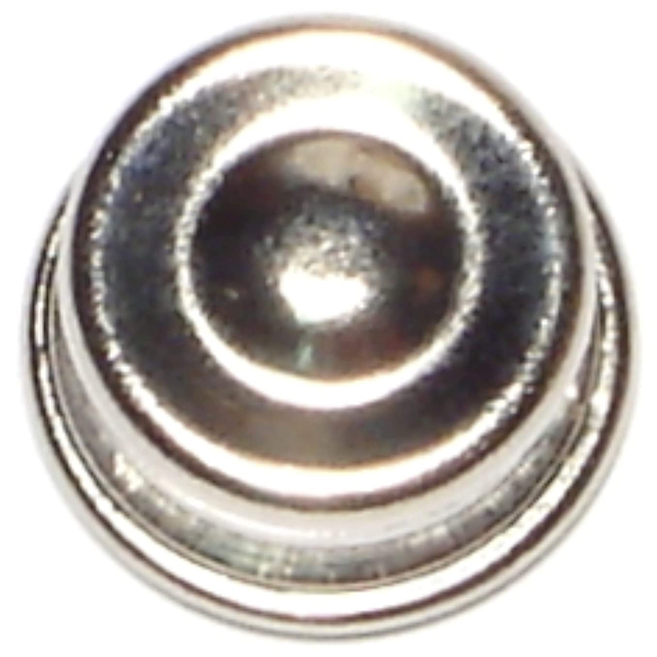Hard-to-Find Fastener 014973137342 Hub Cap Push Nut, 1/4 Chrome, Piece-12