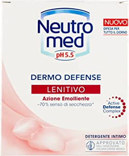 Neutromed - Detergente Intimo, Lenitivo, con 5 ingredienti dermo-protettivi, pH 5.5 - 200 ml