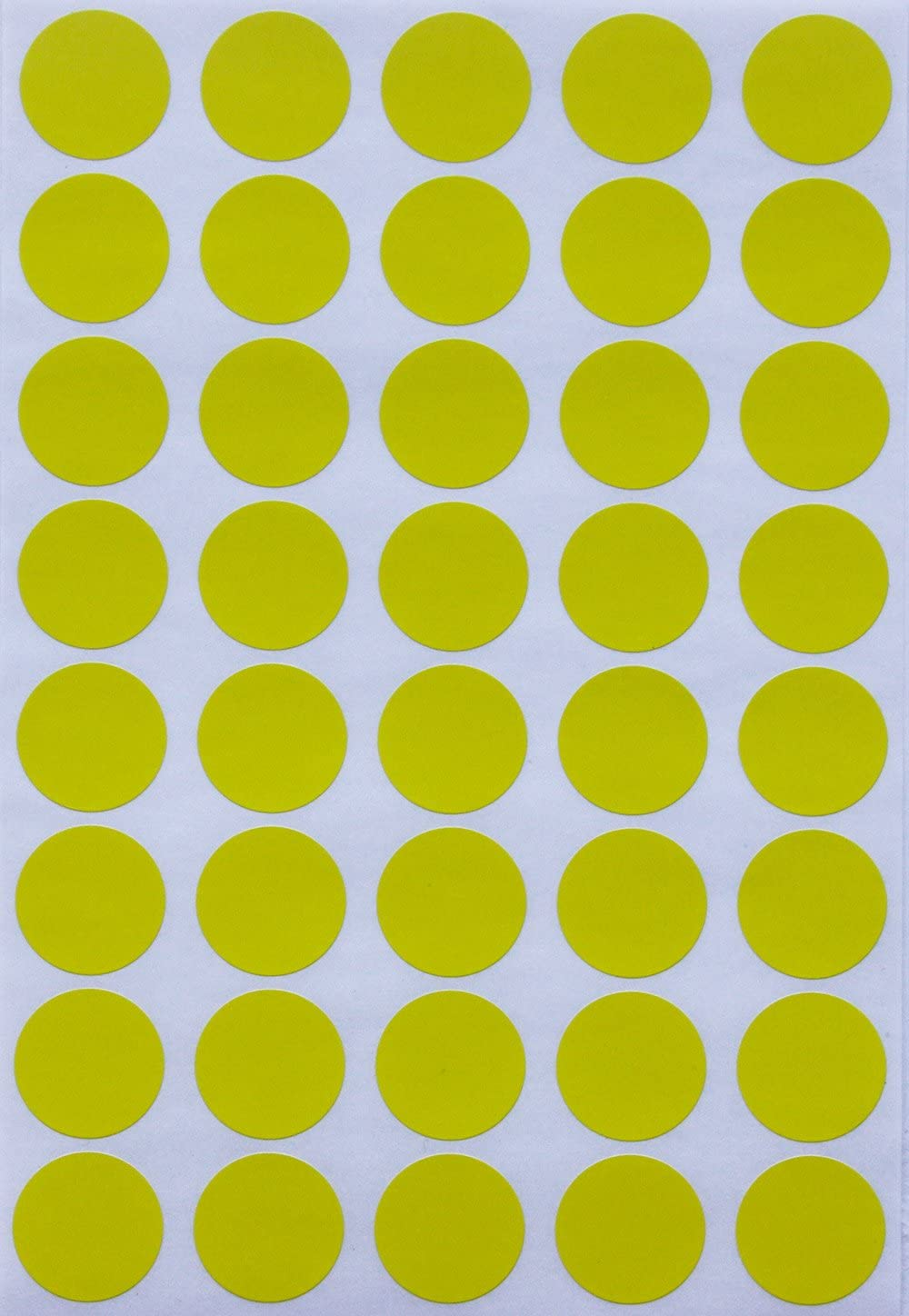 Royal Green Color Coding Ranking Ranking integrated 1st place TOP12 Labels Dot i ¾ Sticker Yellow 19mm -