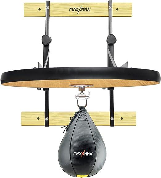 "MaxxMMA Heavy Duty Adjustable Speed Bag Platform Kit 24"" + Speed Ball (10"" x 7"")"