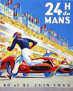 1959 24 Hours Du Man Le Mans France French Car Automobile Race Grand Prix Sport 16