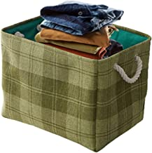 Tenders Kosze do przechowywania, 2, tkanina, biurko, wielofunkcyjne, duża pojemność, kosze do przechowywania gospodarstwa ...