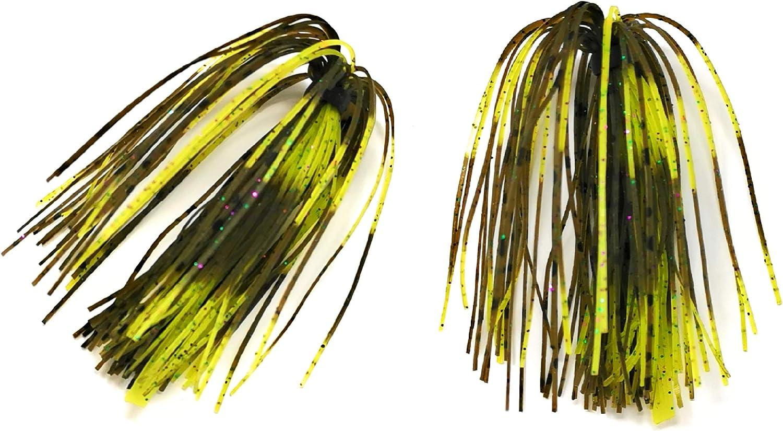 No.2 Bass Jigs for Bass Fishing Pack Bulk Set Kit Flipping Jigs Weedless Jigs Swim Jigs Pitching Jigs Football Jigs Fishing Craw Jig Trailers Bass Skirts Casting Jigs Football Jigs
